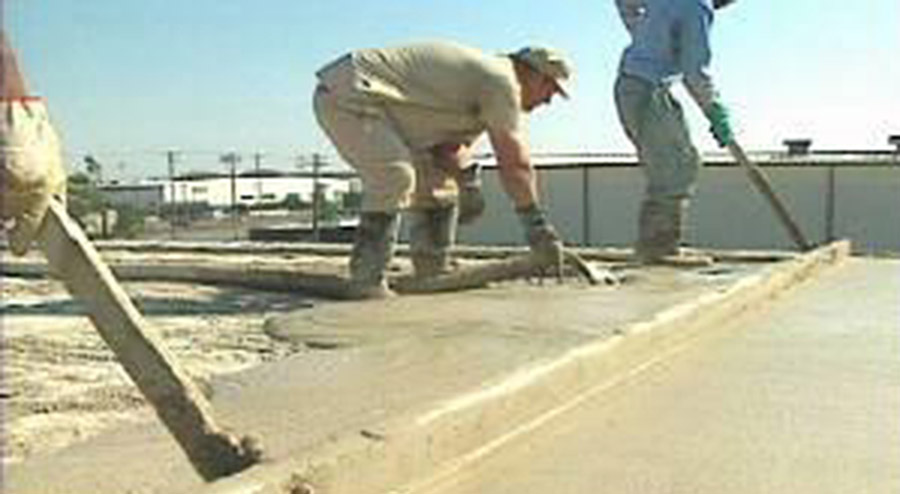 Lightweight And Concrete Screeds The Vermiculite Association